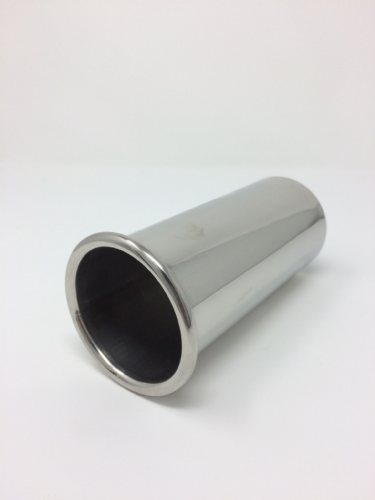 Stainless Steel Rolled Tip Exhaust 36mm - 55 mm Top Quality Exhaust Tip